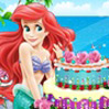 game Ariel Cake Decor