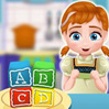 game Baby Anna Cooking Block Cakes