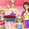 game Barbie Family Cooking Berry Pie