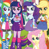 game Canterlot High Numbers Hunt