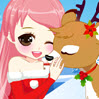 game Christmas Girl Loves Reindeer