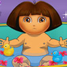 game Dora Bathing