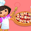 game Dora's Cooking Club Recetas De Pizza
