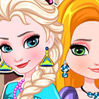 game Elsa And Rapunzel Matching Outfits