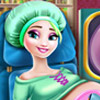 game Elsa Pregnant Check Up