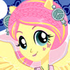 game Fluttershy Rocking Hairstyle