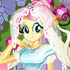 game Fluttershy Wedding Look