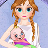 game Frozen Anna Birth