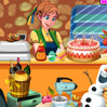 game Frozen Princess Bakery