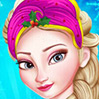 game Princess Elsa Christmas Prep