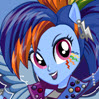 game Rainbow Dash Rocking Hairstyle