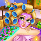 game Rapunzel Spa Day