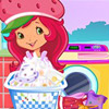 game Strawberry Shortcake Washing Clothes