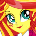 game Sunset Shimmer School Spirit Style