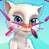 game Talking Angela Nose Doctor
